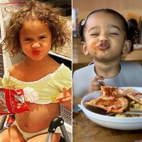 Luna Stephens Chicago West Celeb Kids Who Love to Eat