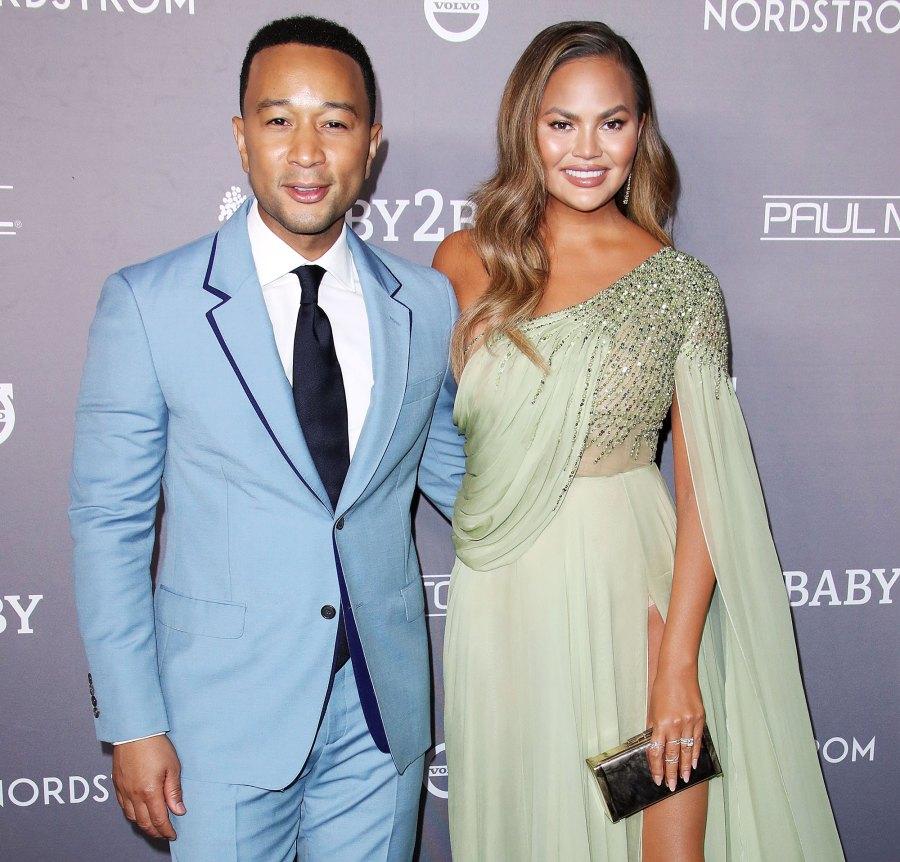 Chrissy Teigen and John Legend Celebs Joke About Splitting From Their Partners Amid Quarantine