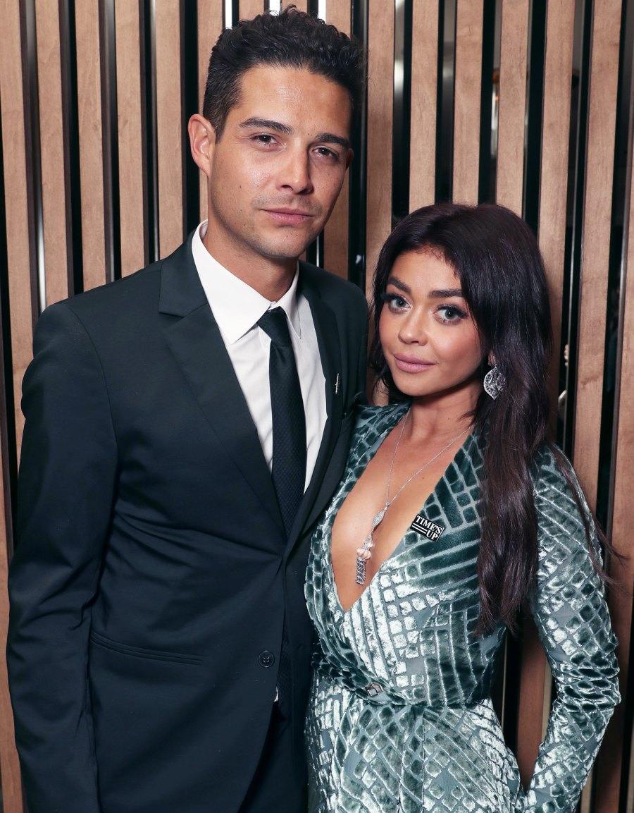 Sarah Hyland and Wells Adams Celebs Joke About Splitting From Their Partners Amid Quarantine