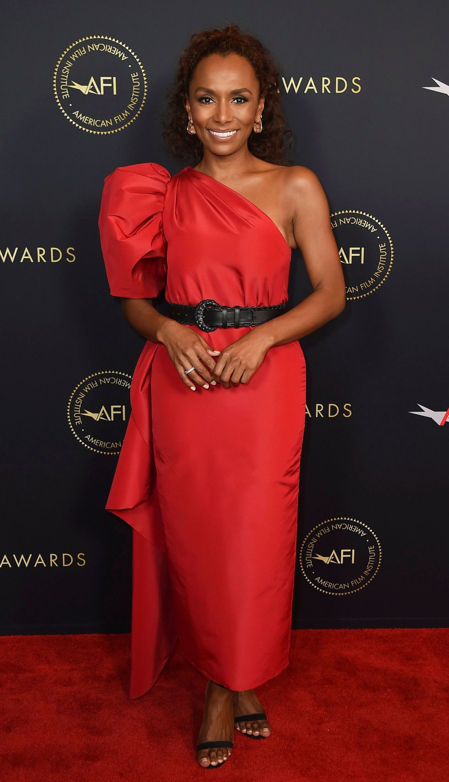 Celebs Wearing Carolina Herrera - Janet Mock