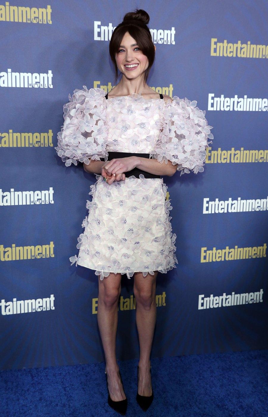 Celebs Wearing Carolina Herrera - Natalia Dyer