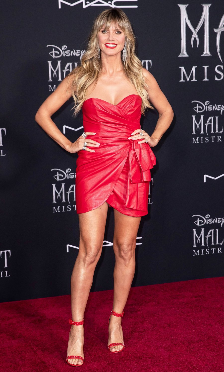 Celebs Stun In Red Leather On The Red Carpet