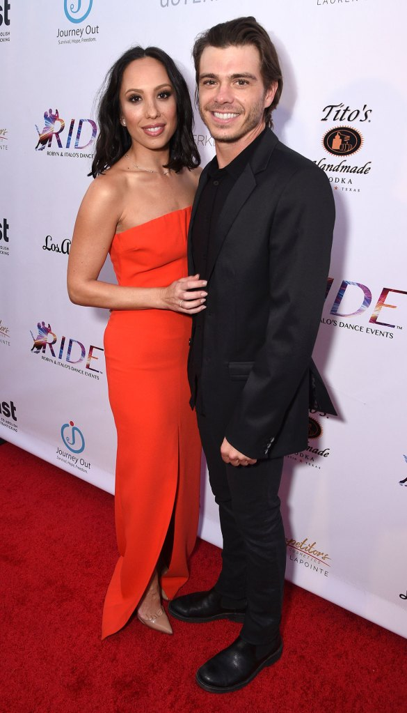 Cheryl Burke and Matthew Lawrence Quarantine Tested Marriage Ride Foundation Second Annual Gala