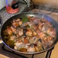 Chicken Cacciatore on the Stove Joe Giudice Italian Eats
