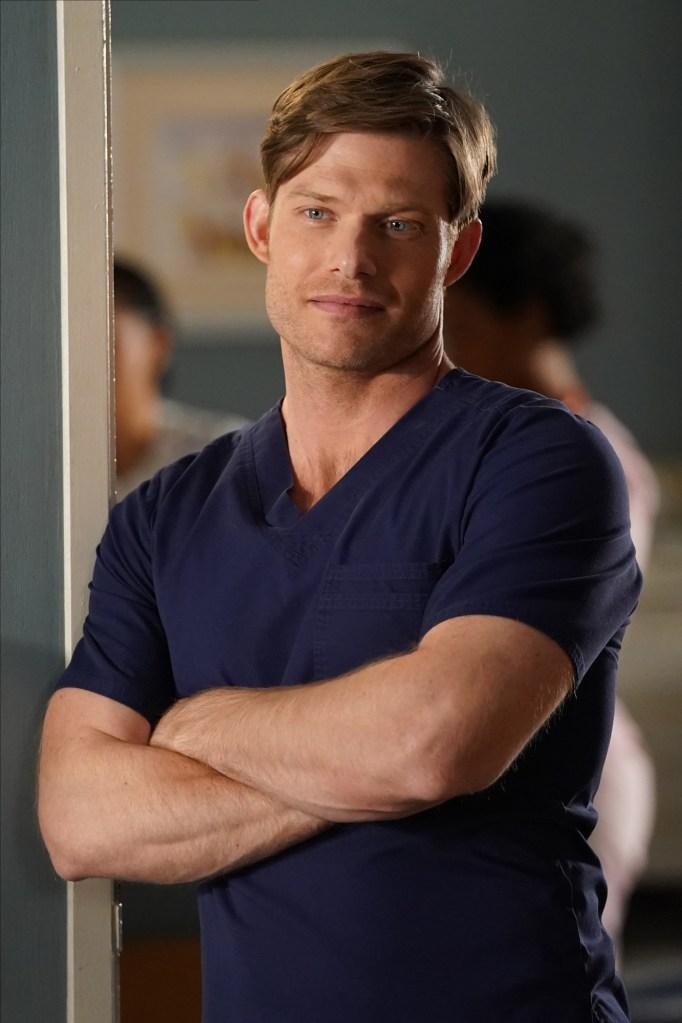 Chris Carmack Grey's Anatomy Finale