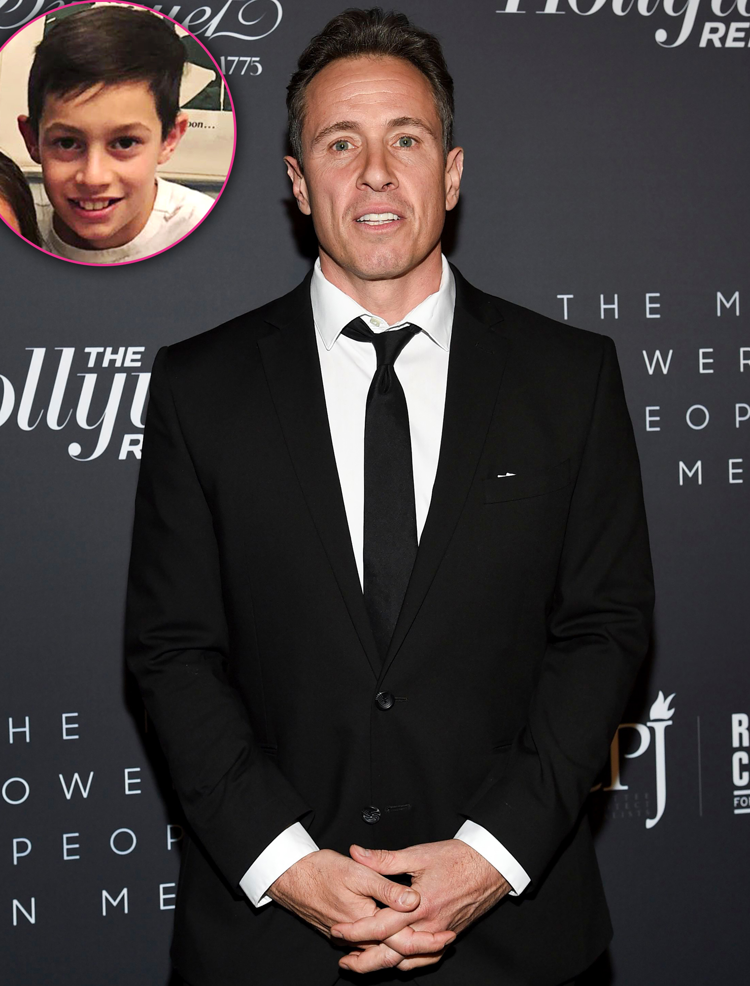Chris Cuomo Gives an Update on 14-Year-Old Son's Condition After Coronavirus Diagnosis