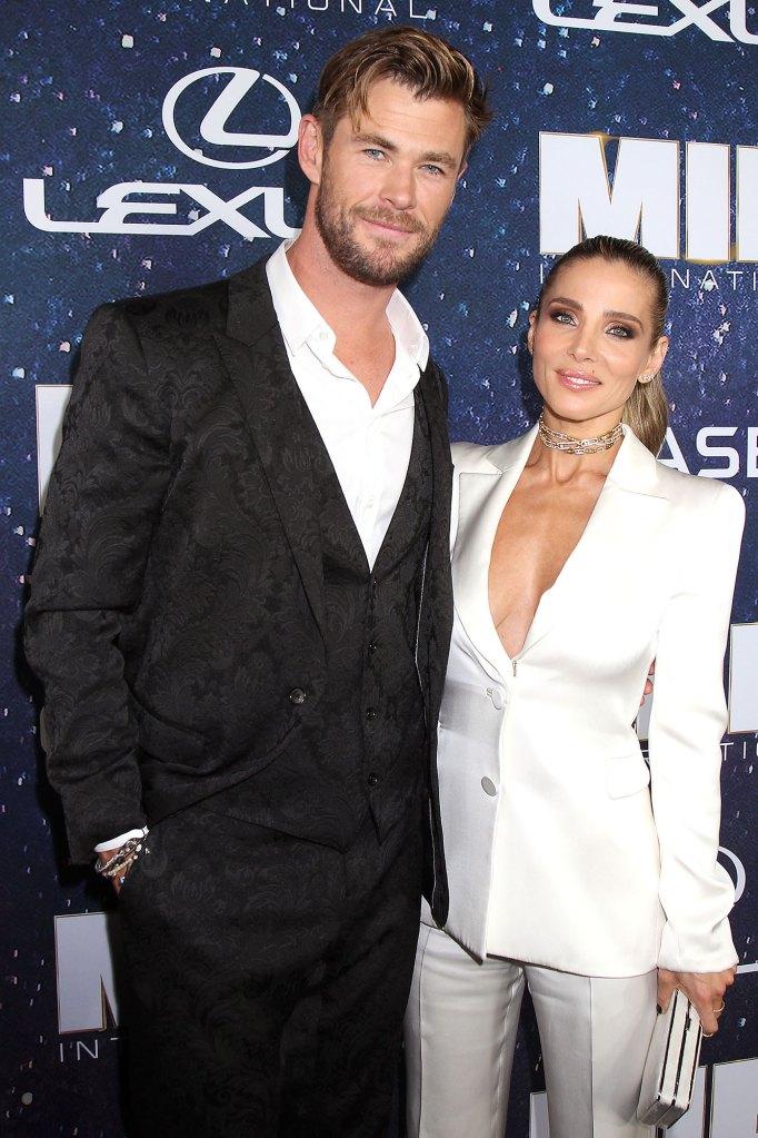 Chris Hemsworth, Elsa Pataky Son Crash Interview