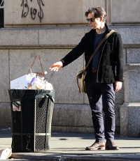 Cillian Murphy garbage can