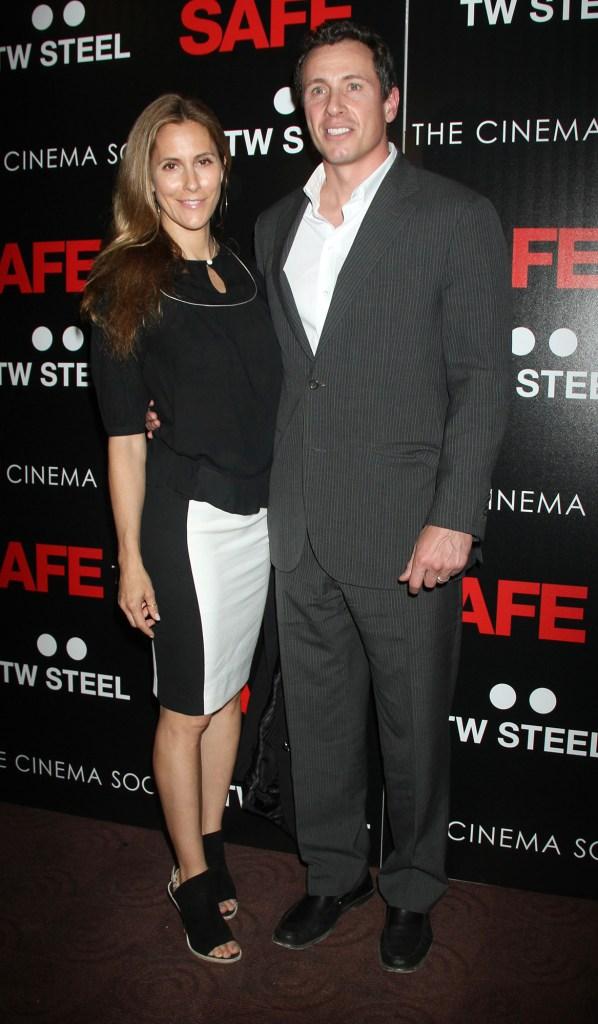 Cristina Greeven Cuomo and Chris Cuomo COVID