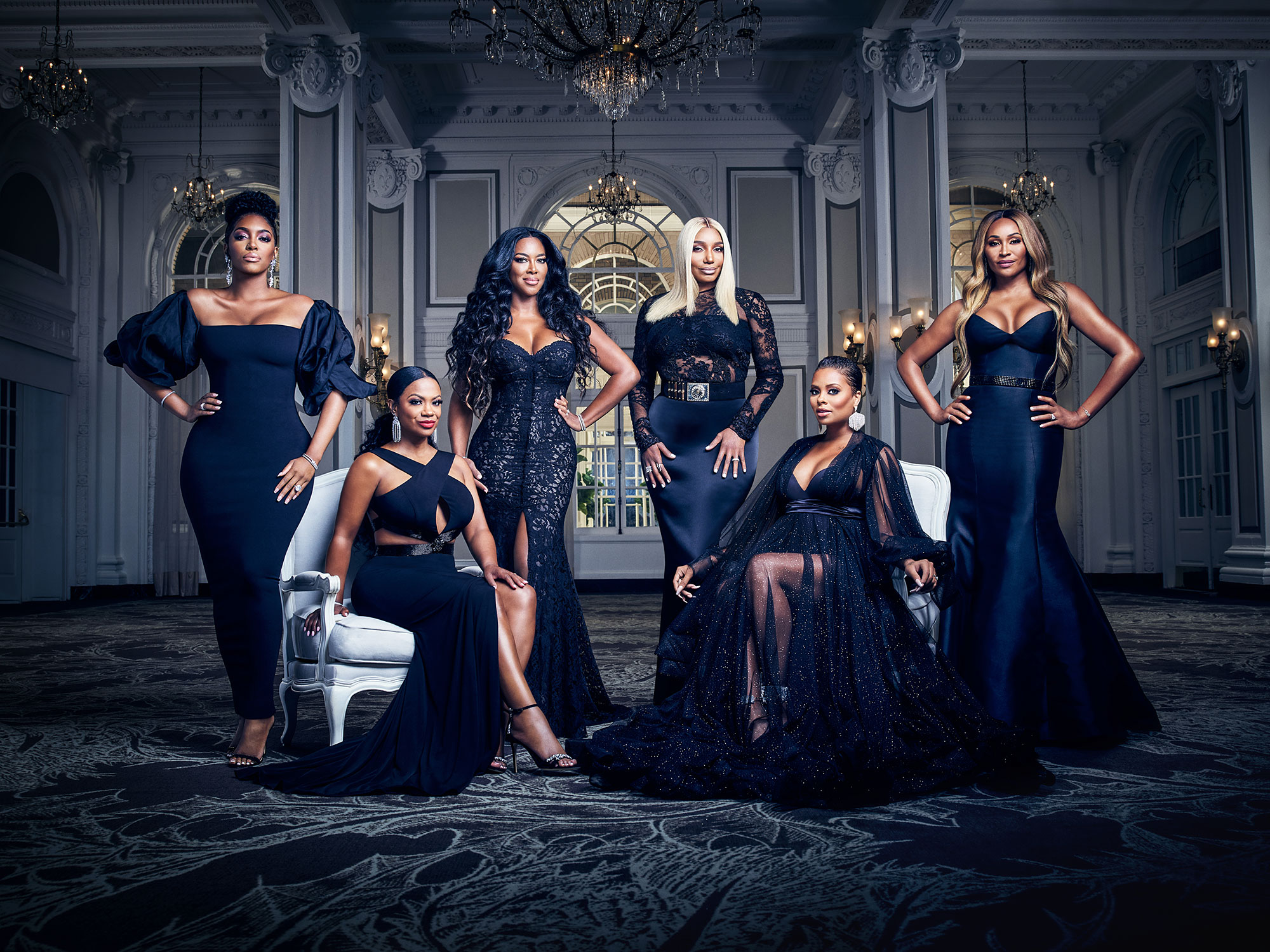 The Cast of The Real Housewives of Atlanta Cynthia Bailey Says All the RHOA Ladies Are Invited to Her Wedding