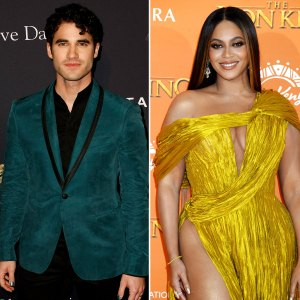 Darren Criss Jokes That Beyonce Stole His Singalong Tune