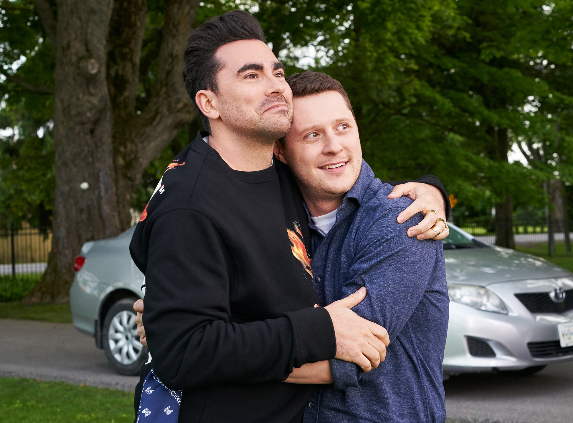 David and Patrick Schitt's Creek finale