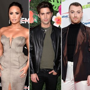 Demi Lovato Introduces Boyfriend Max Ehrich Pal Sam Smith