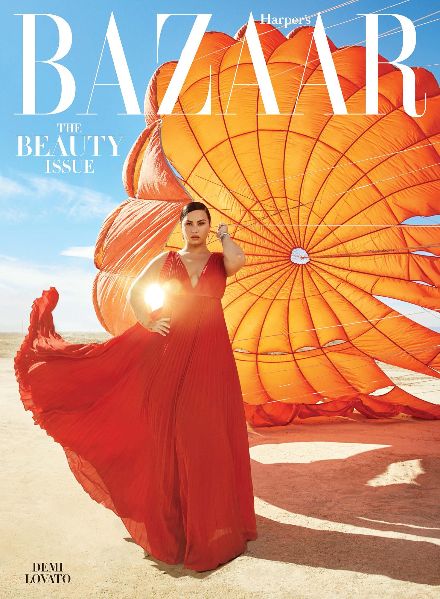 Demi Lovato Harper's Bazaar Alex