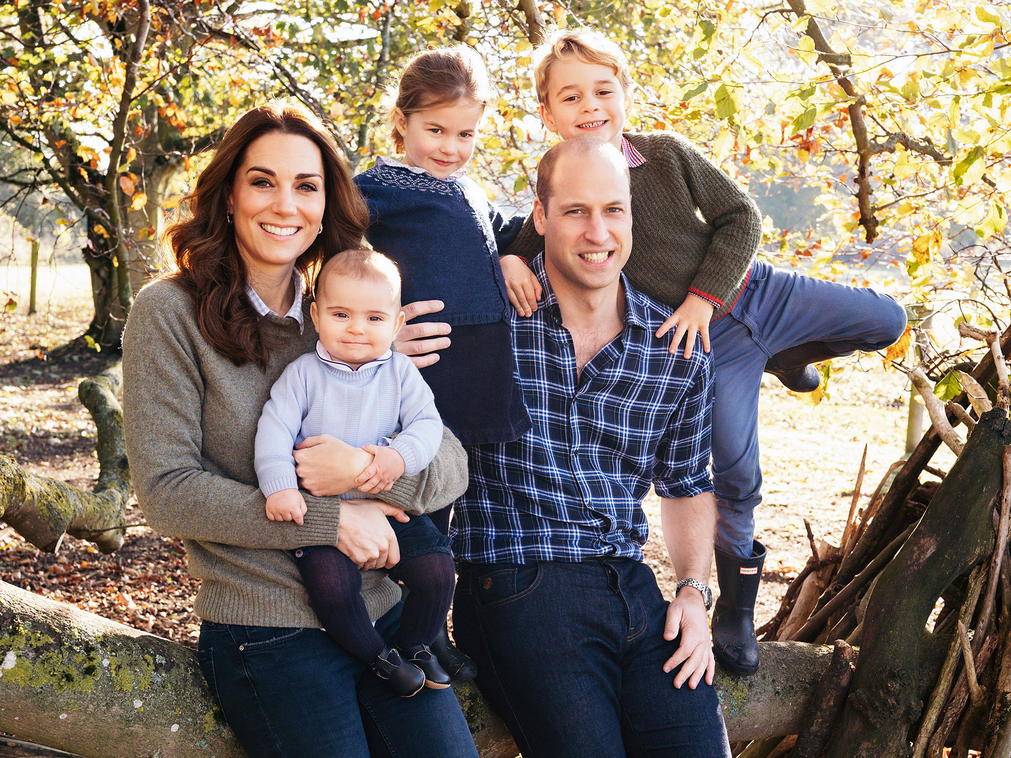 Duchess Kate Prince William Prince Louis Princess Charlotte and Prince George Duchess Kate Entertains the Royal Kids With Baking and Gardening Amid Quarantine