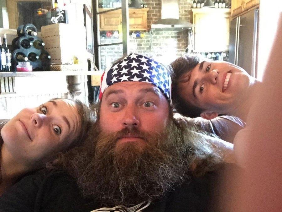 Duck Dynasty Mary Kate Robertson, Willie Robertson, John Luke Robertson Instagram
