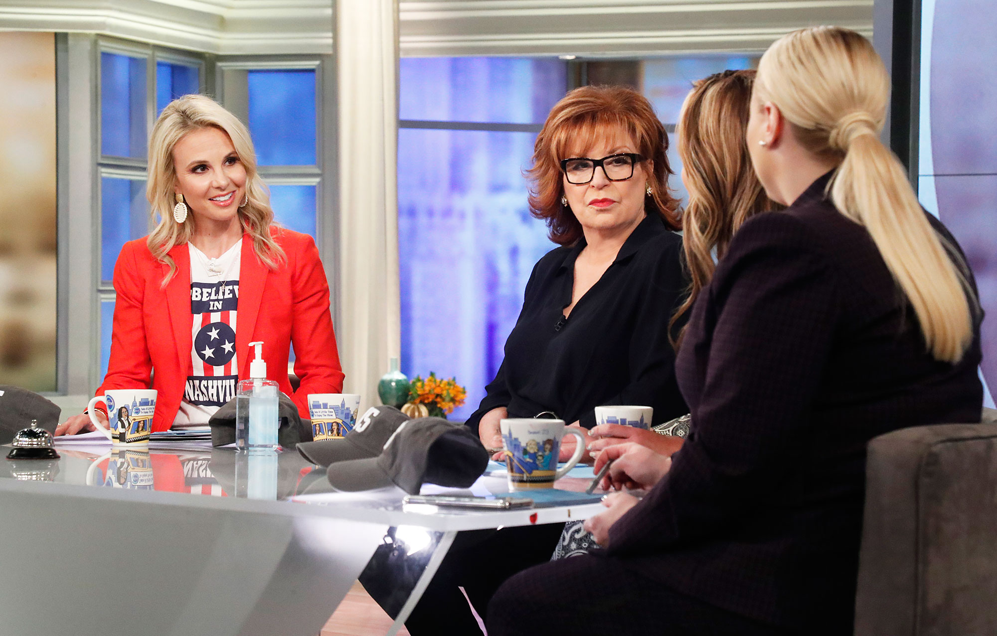 Elisabeth Hasselbeck and Joy Behar on The View Joy Behar to Retire From The View in 2022