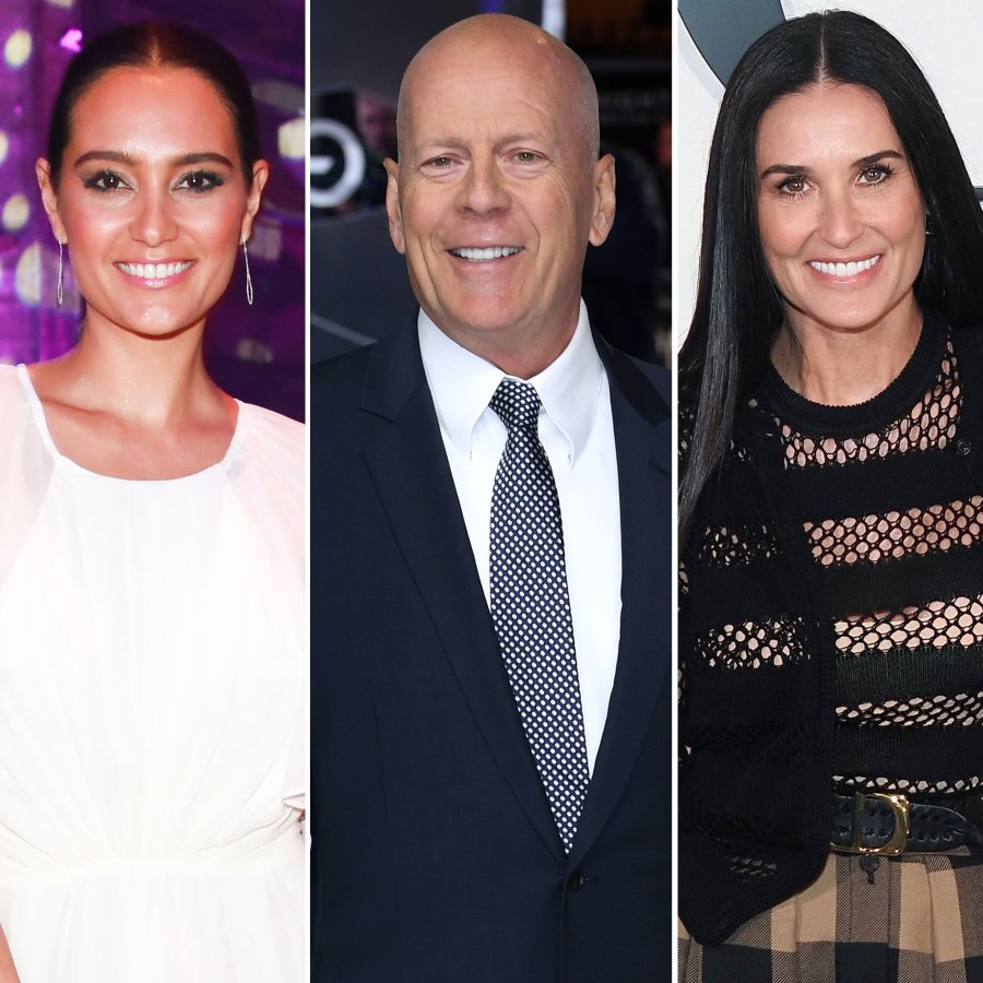 Emma Heming Bonds With Daughters as Bruce Willis Quarantines With Demi Moore