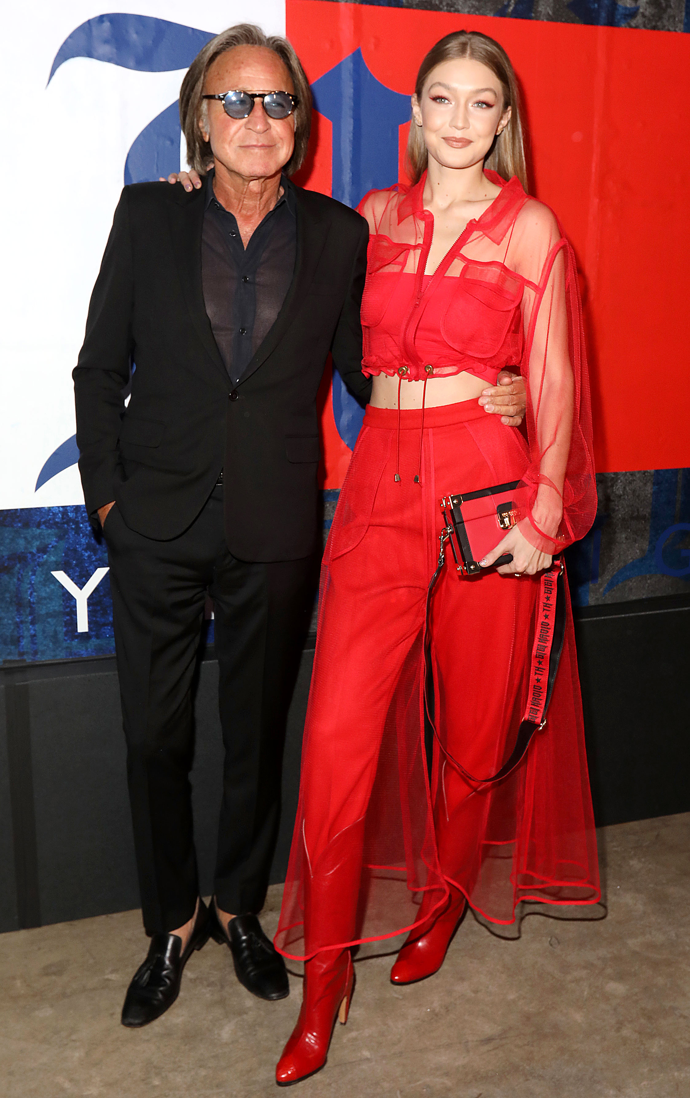 Gigi Hadid Dad Mohamed Hadid Plays Coy About Her Pregnancy News
