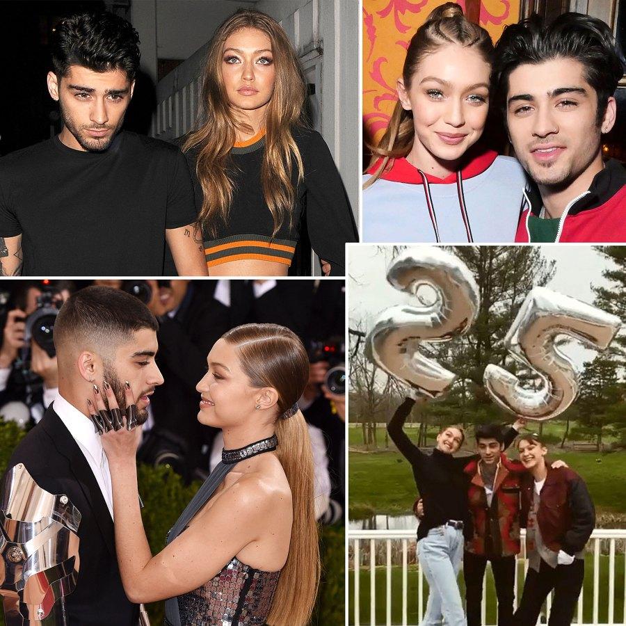 Gigi Hadid Zayn Malik A Timeline of Their Relationship