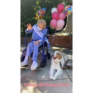 How Kirk Douglas' Widow Anne Buydens Celebrated Her 101st Birthday in Quarantine