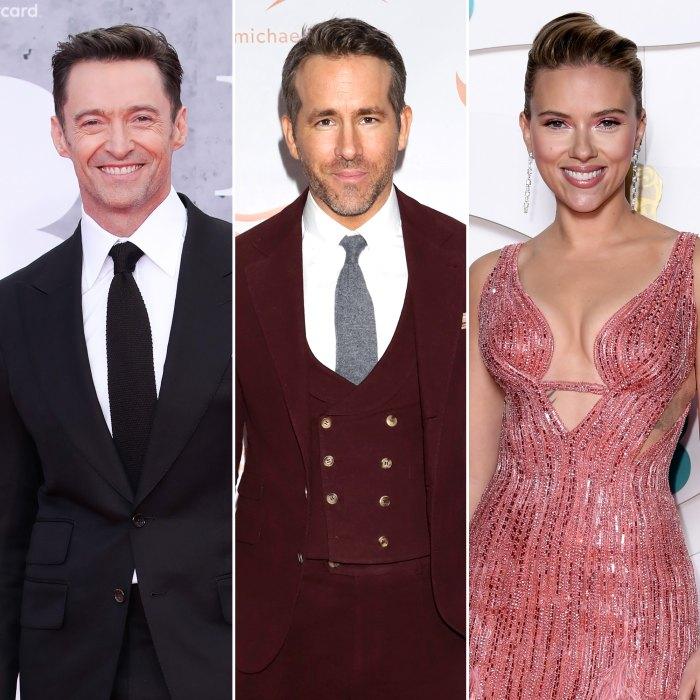 Hugh Jackman Ryan Reynolds Feud Began With Scarlett Johansson
