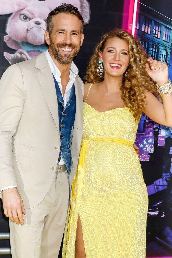 Quarantine Ryan Reynolds and Blake Lively Pokemon Yellow Dress Pregnant