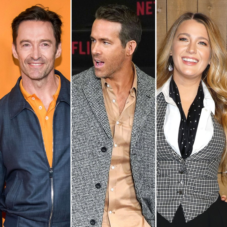 Hugh Jackman Jokes Quarantine Ryan Reynolds and Blake Lively