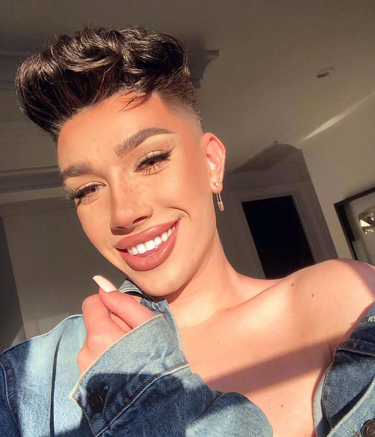 James Charles Shares Zoom Makeup Tips Details