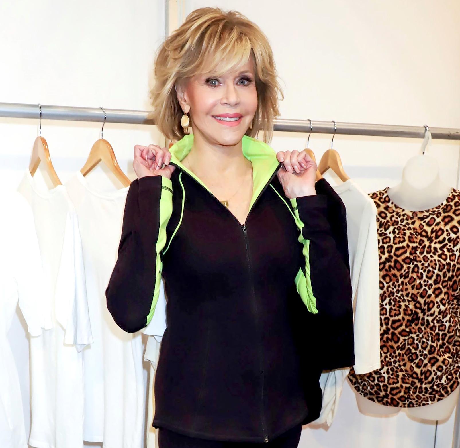 Jane Fonda Revives Her '80s Workout Routine on TikTok