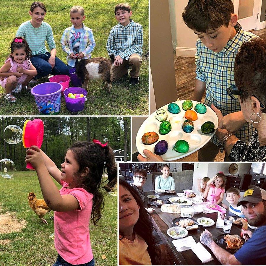 Jenelle Evans David Eason Spend Easter Together