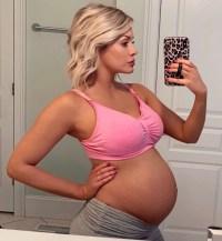 Jenna Cooper baby bump