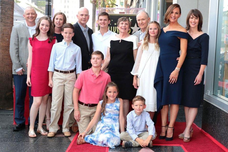 Jennifer Garner Son Samuel Writes Coronavirus Haiku Walk of Fame Family