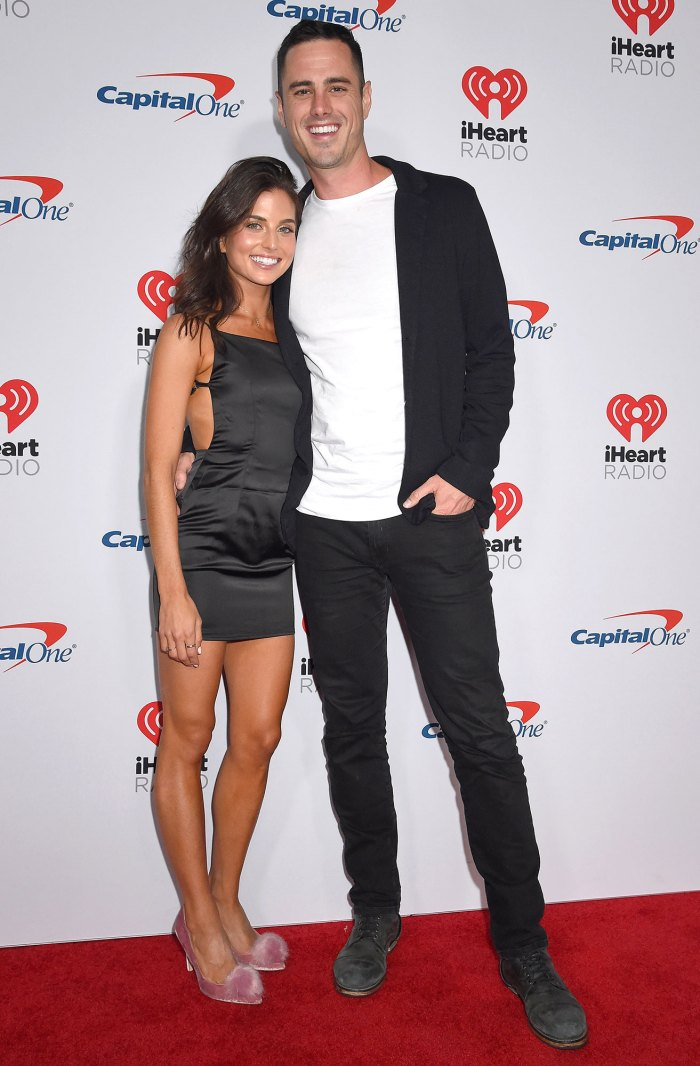 Jessica Clarke and Ben Higgins iHeartRadio