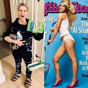 Jessica Simpson recrée la «femme au foyer de l'année»: photos