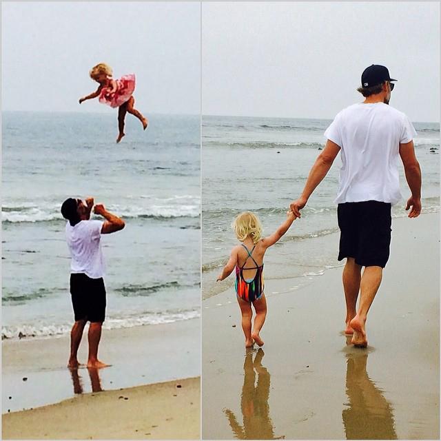 Jessica Simpson Husband Eric Johnson Throws Maxwell 2014
