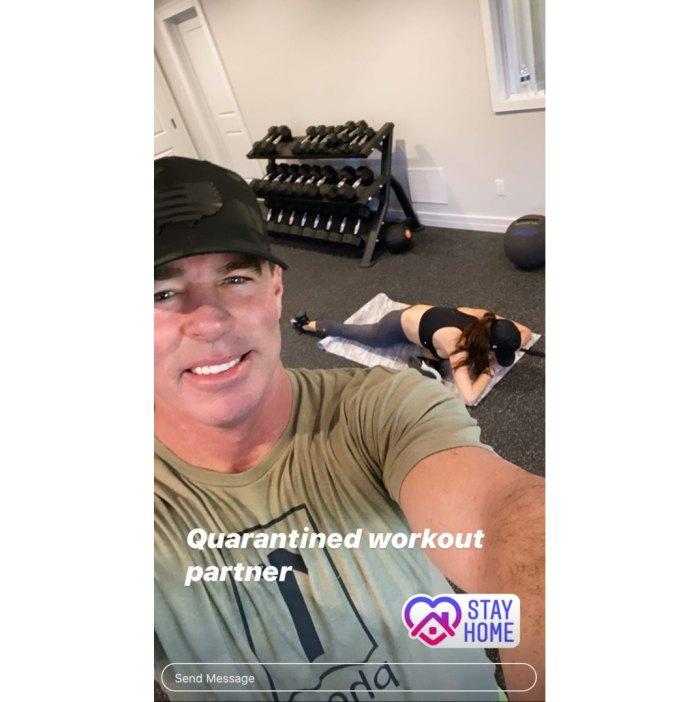 Jim Edmonds Quarantining With New Girlfriend Kortnie O'Connor 2