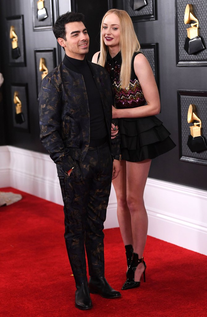 Joe Jonas and Sophie Turner 62nd Annual Grammy Awards Wedding Anniversary