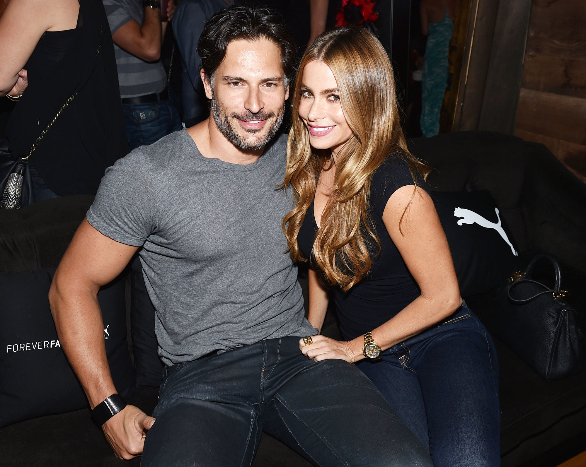 Joe Manganiello and Sofia Vergara in 2014 Joe Manganiello Recalls Falling in Love With Wife Sofia Vergara