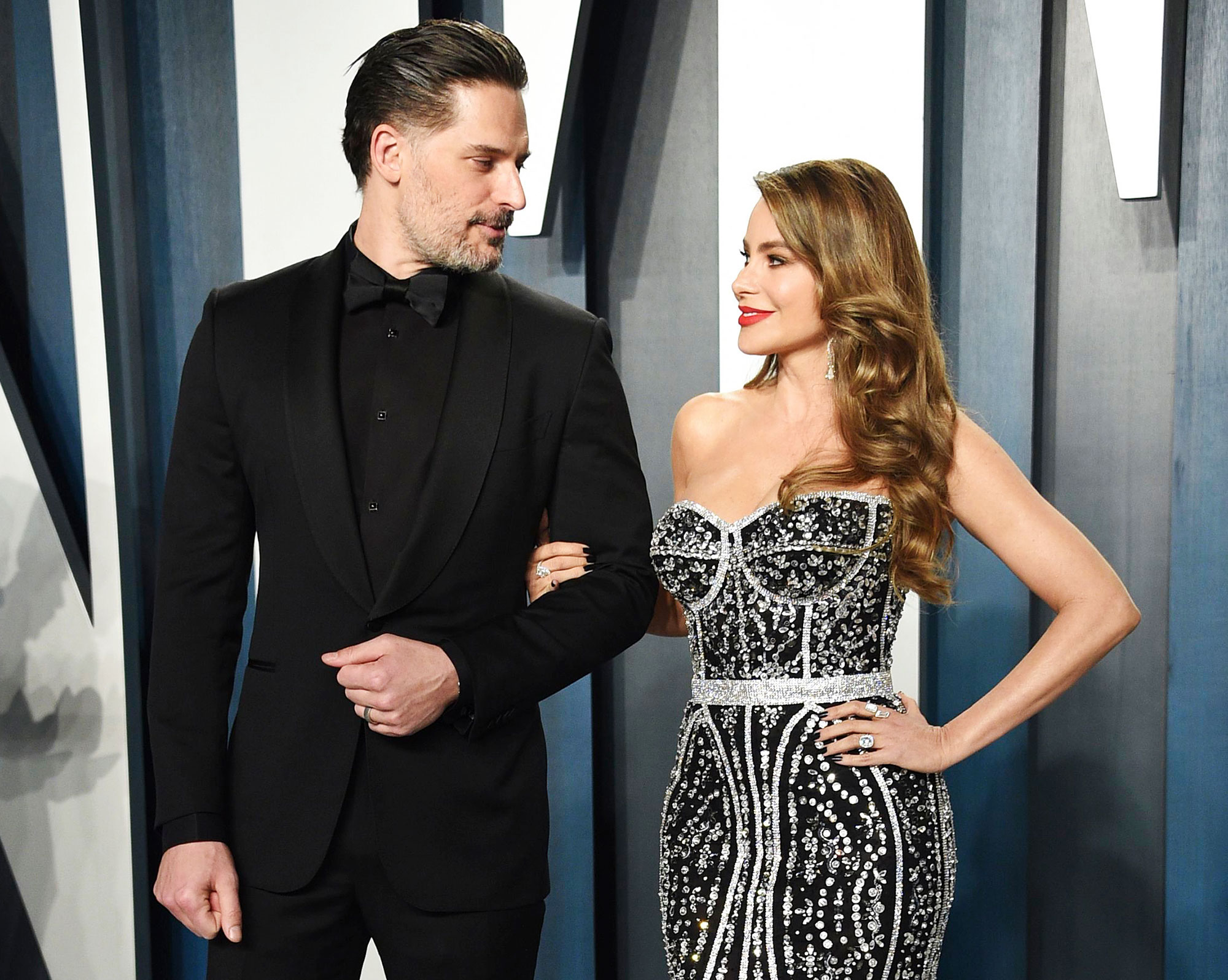 Joe Manganiello and Sofia Vergara attend the Vanity Fair Oscar Party Joe Manganiello Recalls Falling in Love With Wife Sofia Vergara