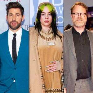 John Krasinski Hosts Virtual Quarantine Prom With Billie Eilish, Rainn Wilson