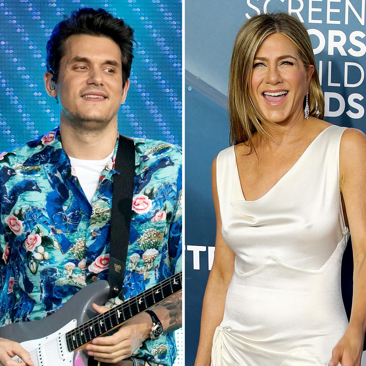 John Mayer Really Made Ex Jennifer Aniston Laugh on Instagram Live 2