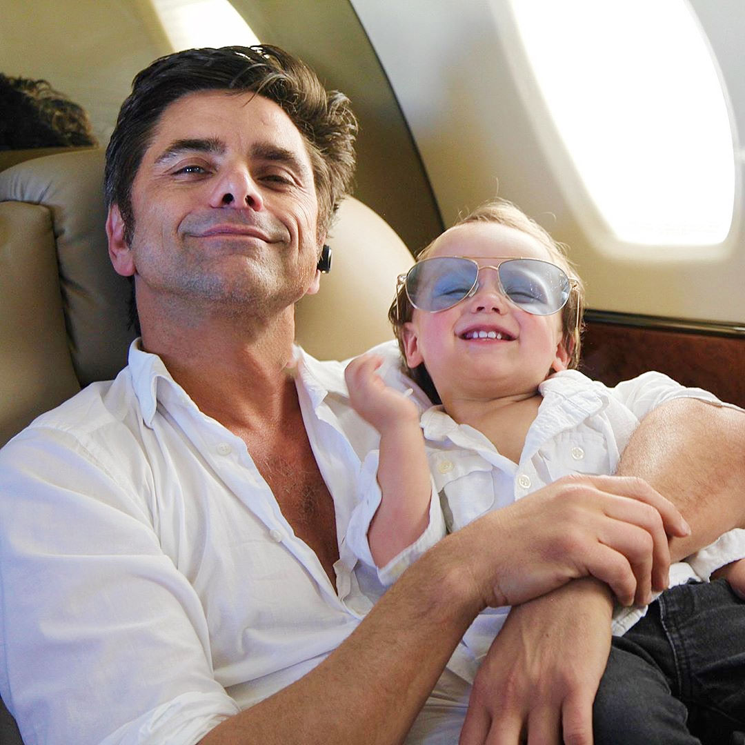 John Stamos Reveals He Uses Full House Couch as a Baby Safety Gate