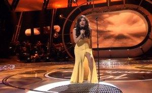 Katharine McPhee American Idol Dress