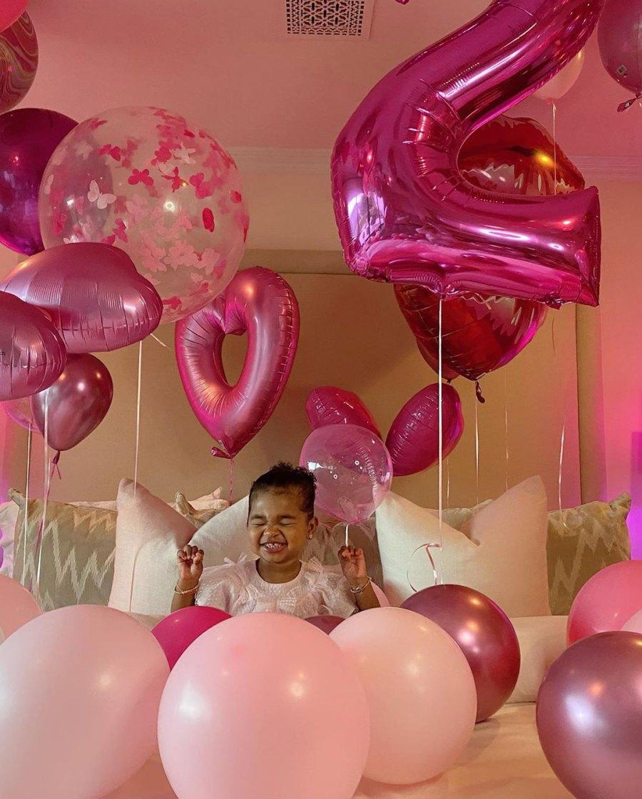 Khloe Kardashian and Tristan Thompson Wish Daughter True a Happy 2nd Birthday