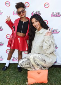 Kim Kardashian Says North Running the House Amid Quarantine