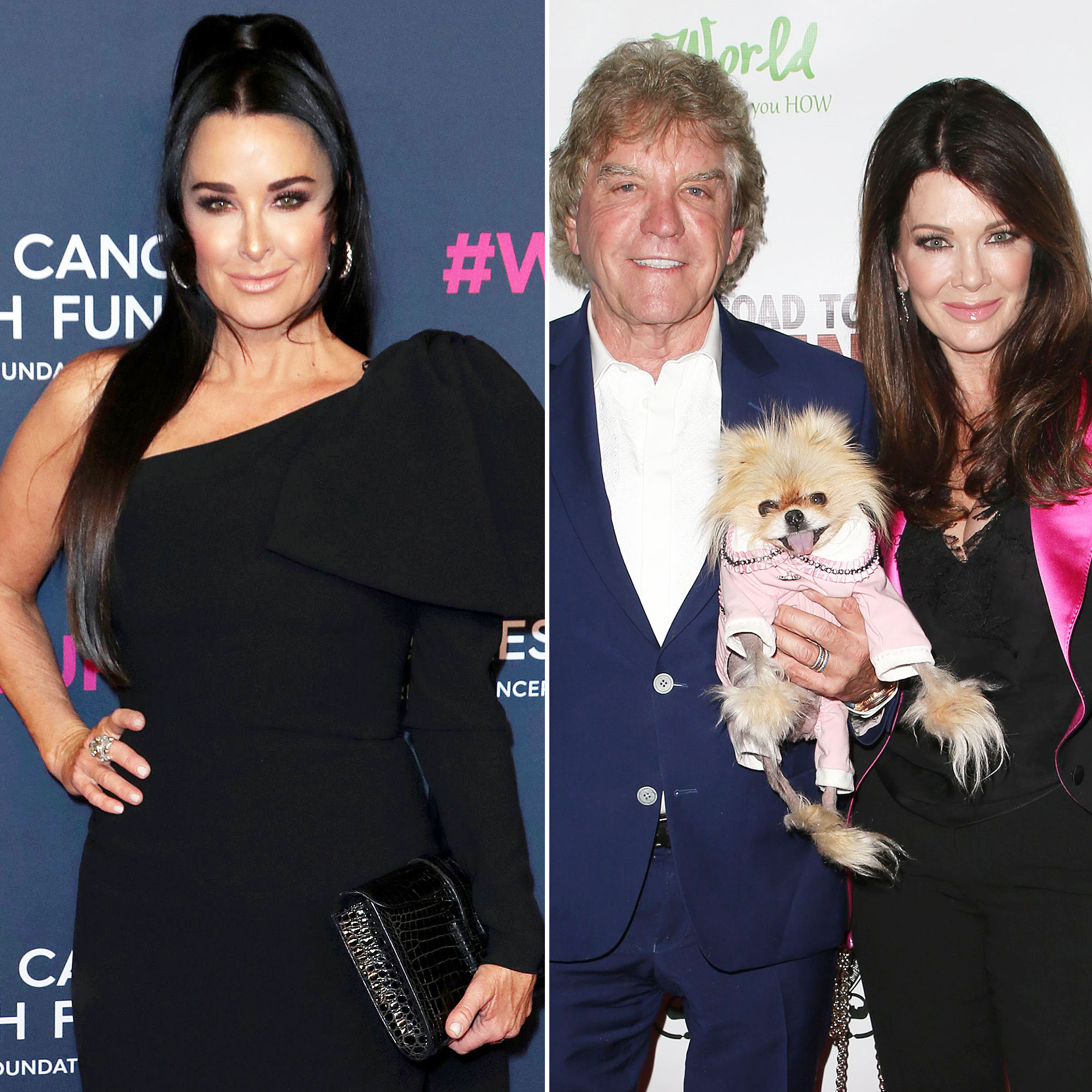 Kyle Richards Reveals She and Ken Todd Hugged During Most Recent Run-In With Lisa Vanderpump
