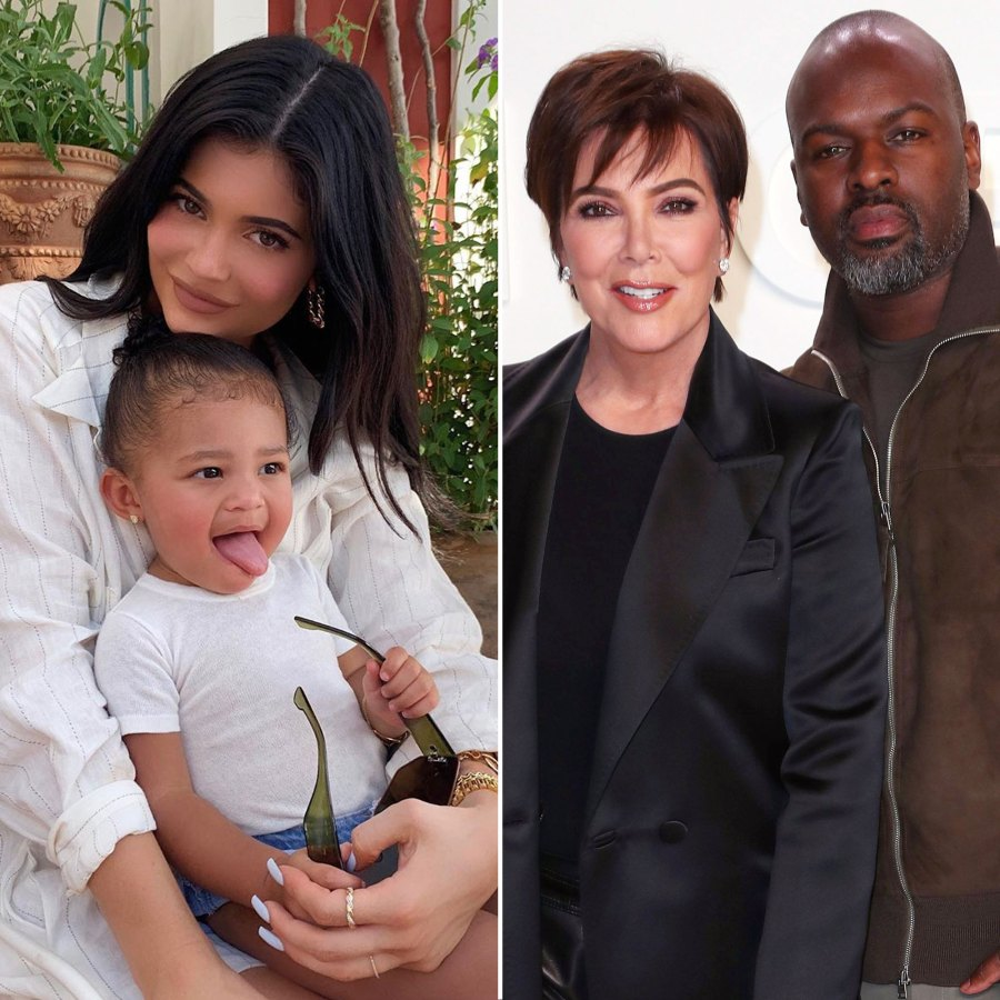 Kylie Jenner Dances on TikTok With Daughter Stormi, Kris Jenner and Corey Gamble