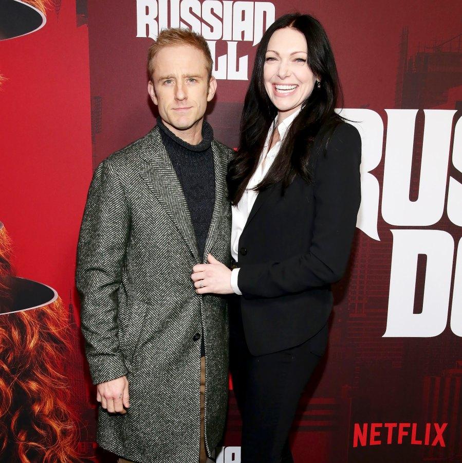 Laura Prepon Ben Foster newborn baby name