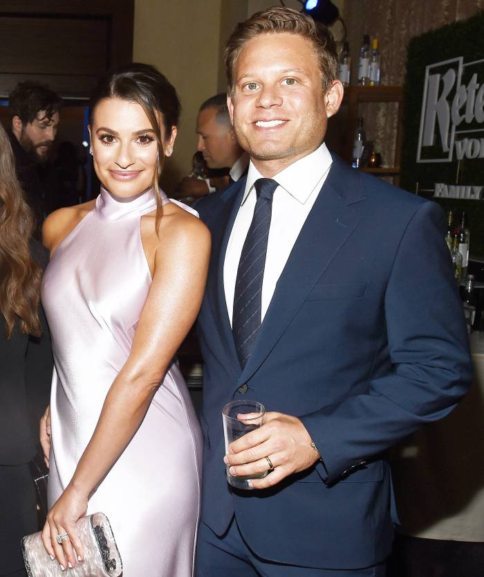 Lea Michelle Is Expecting Her First Child With Husband Zandy Reich